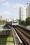 Tren en Singapur Foto de archivo libre de regalías