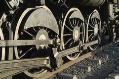 Tren en Swakopmund, Namibia del vapor Imagen de archivo libre de regalías