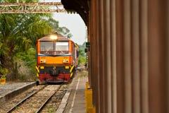 Tren en Tailandia Foto de archivo