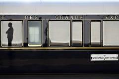 Tren expreso de Oriente fotos de archivo libres de regalías