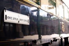 Tren expreso de Oriente imagen de archivo libre de regalías