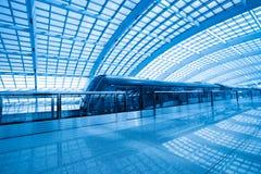 Tren expreso del aeropuerto de capital Imágenes de archivo libres de regalías