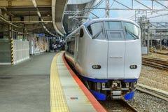 Tren expreso del aeropuerto de Haruka Imagen de archivo libre de regalías