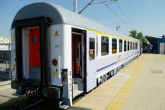Tren expreso del pasajero imagen de archivo