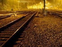 Tren faltado Imagenes de archivo
