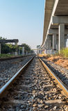 Tren ferroviario en Taiwán Foto de archivo libre de regalías