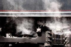 Tren ferroviario histórico Imágenes de archivo libres de regalías