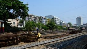 Tren ferroviario tailandés, Timelapse almacen de video