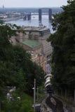 Tren funicular imagenes de archivo