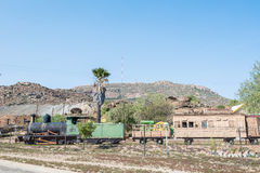 Tren histórico en el museo en Nababeep Imagen de archivo