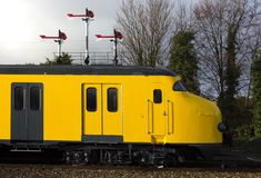 Tren holandés antiguo foto de archivo libre de regalías