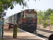Tren indio Imagenes de archivo
