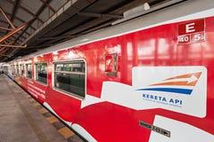 Tren indonesio Imagenes de archivo