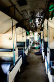 Tren interior sucio Imagen de archivo