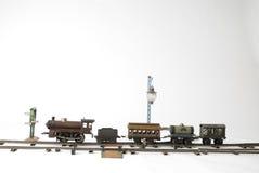 Tren a jugar con Fotografía de archivo libre de regalías
