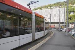 Tren ligero de la ciudad Imagen de archivo