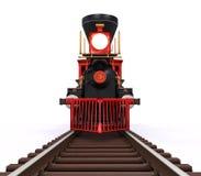 Tren locomotor viejo Fotos de archivo