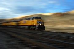 Tren móvil Fotos de archivo