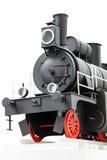 Tren negro del juguete del vintage Imagen de archivo libre de regalías