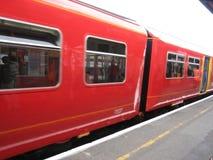 Tren que viaja Imagen de archivo libre de regalías
