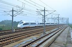 Tren rápido chino imagen de archivo libre de regalías
