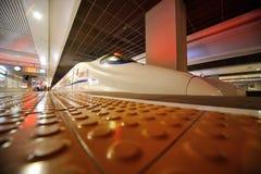 Tren rápido chino de CRH fotografía de archivo