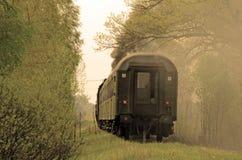 Tren retro del vapor Imagenes de archivo