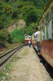 Tren Shimla del juguete Fotografía de archivo libre de regalías