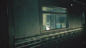 Tren sin fin místico Movimiento del metro Loopable stock de ilustración