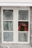 Türen und Fenster in Haugesund Stockfotos