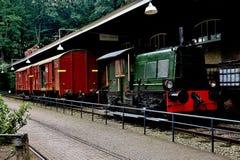 Tren viejo Fotos de archivo libres de regalías
