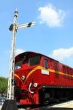 Tren viejo de la historia foto de archivo libre de regalías
