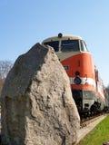 Tren viejo de RDA fotografía de archivo libre de regalías