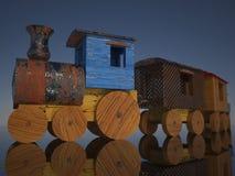 Tren viejo del juguete Imagen de archivo libre de regalías