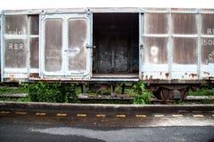 Tren viejo del moho Foto de archivo libre de regalías