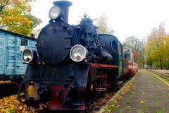Tren viejo del vapor Foto de archivo libre de regalías