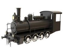 Tren viejo del vapor Foto de archivo