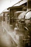 Tren viejo del vapor fotos de archivo