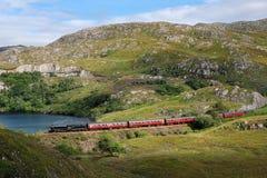 Tren del vapor de Harry Potter fotos de archivo