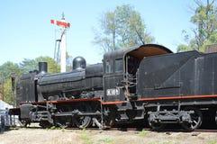 Tren y señales del vapor Imagen de archivo libre de regalías