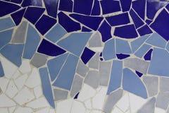 Trencadis mosaic Royalty Free Stock Photos