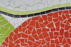 Trencadis mosaic Royalty Free Stock Photo