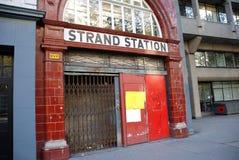 Trence la estación, Londres Fotografía de archivo libre de regalías
