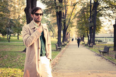 Trench Coat Stock Images