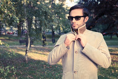 Trench coat Royalty Free Stock Image