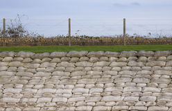 Trench of death in Diksmuide royalty free stock photos