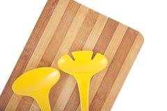 Trencher en keukengereedschap Stock Afbeeldingen
