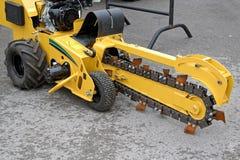 Free Trencher Machine Stock Image - 126719031
