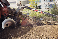 Trenching! Stock Photos