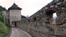 Trenciansky hrad Stock Photos